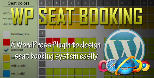 16-Seat Booking System WordPress-plugin-wordpress-appointment-making
