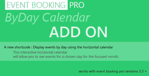 18-Event Booking Pro : byDay Calendar-plugin-wordpress-prise-rendez-vous