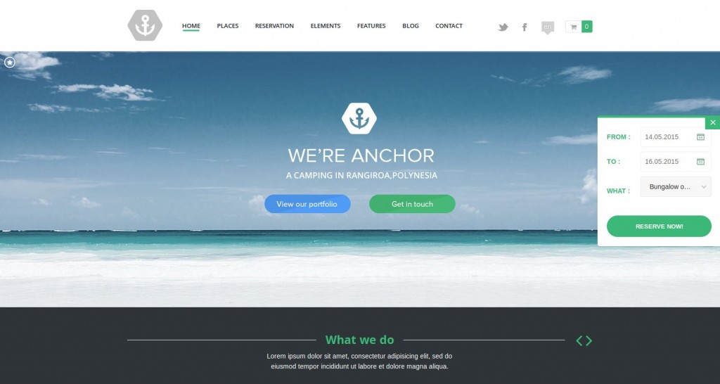20 Temas de WordPress franceses - WP-Theme-Plugin.com